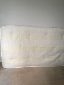 Small Double (4ft wide) Mattress Good Condition No Marks