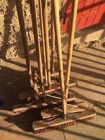 Seven brooms