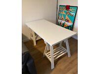 IKEA Trestle Desk (White)