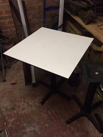 4 X TABLES APPROX 75CM X 75CM
