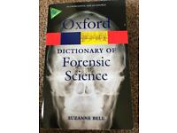 Dictionary of forensic science