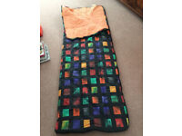 Adult sleeping bag ★ Colour: Black, red, green yellow