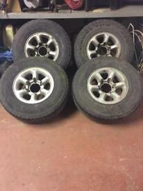 "L200 16"" alloy wheels & tyres"