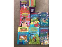 Jeremy Strong books x14