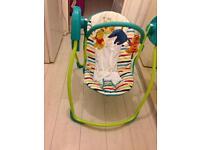 Swinging chair £30