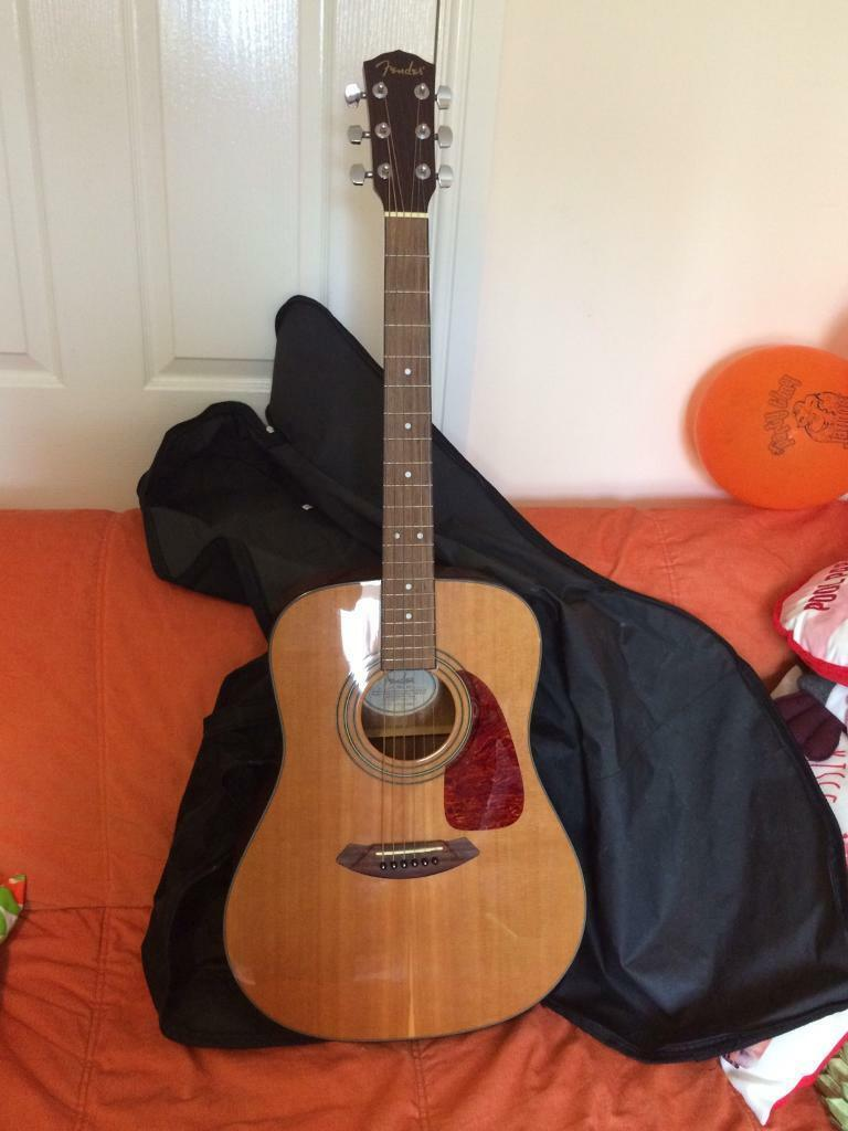 Fender CD140s Natural Acoustic Guitar