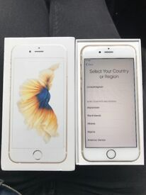 iPhone 6s 16GB Gold locked on EE