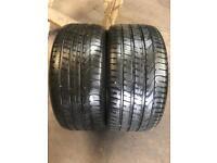 2 PW 255 35 19(96Y) Pirelli P Zero AO Extra Load Tread 5.5mm-6.5mm