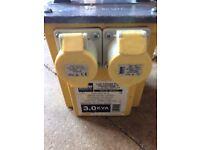 110v transformer box
