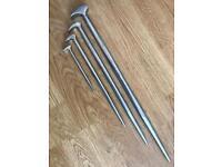 Trident Tools 4 Pry bar set