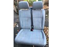 Vw t5 dual passenger seat