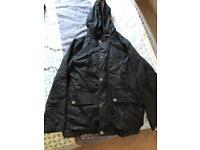 Boys waxed coat