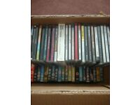 Mixed lot of CDs and DVDs - full list in description