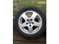 "Skoda 15"" alloy wheels and tyres (set of 4)"