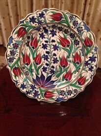 Istanbul handmade plate stand