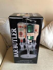 Brand New 4 bottle Bar Butler
