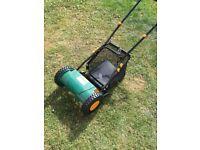B &Q hand - propelled lawnmower