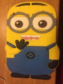 Minion full size iPad rubber case, ideal present