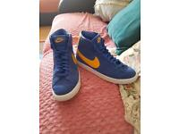 Child's Nike high top trainers