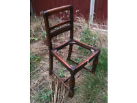 Vintage/antique chairs x 3