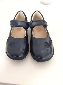 Kids Clarks First Shoes Dark blue UK size 6.5