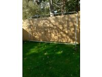 Security fence / scrap metal free to collect