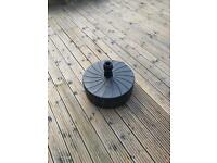 Large Heavy Duty Parasol Base, Used Condition,