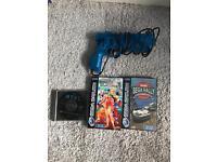 Sega Saturn and 3 games