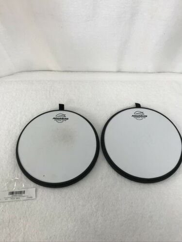2pc  Aquarian Super-Pad Low Volume Drumsurface 10 in.
