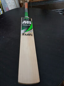 MB MALIK ZULFI CRICKET BAT 9 Grains 40 mm Edge 2.8 Weight. MONSTOR EDGES