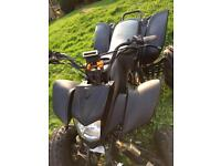 Road legal quad bashan 200cc 2008 plate 12months mot