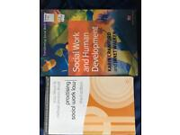 Social work books. Books that are on reading list for social work degree in Northern Ireland