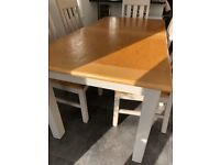 Marks and Spencer Padstow oak dining table