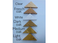 For sale Oak Effect colors Rustic Corner Floating Shelves, Wall Storage, Handmade.