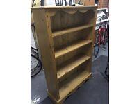 Antique Pine Book Case