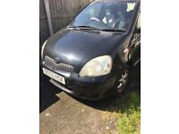TOYOTA YARIS 2003 IDEAL AS SPARES
