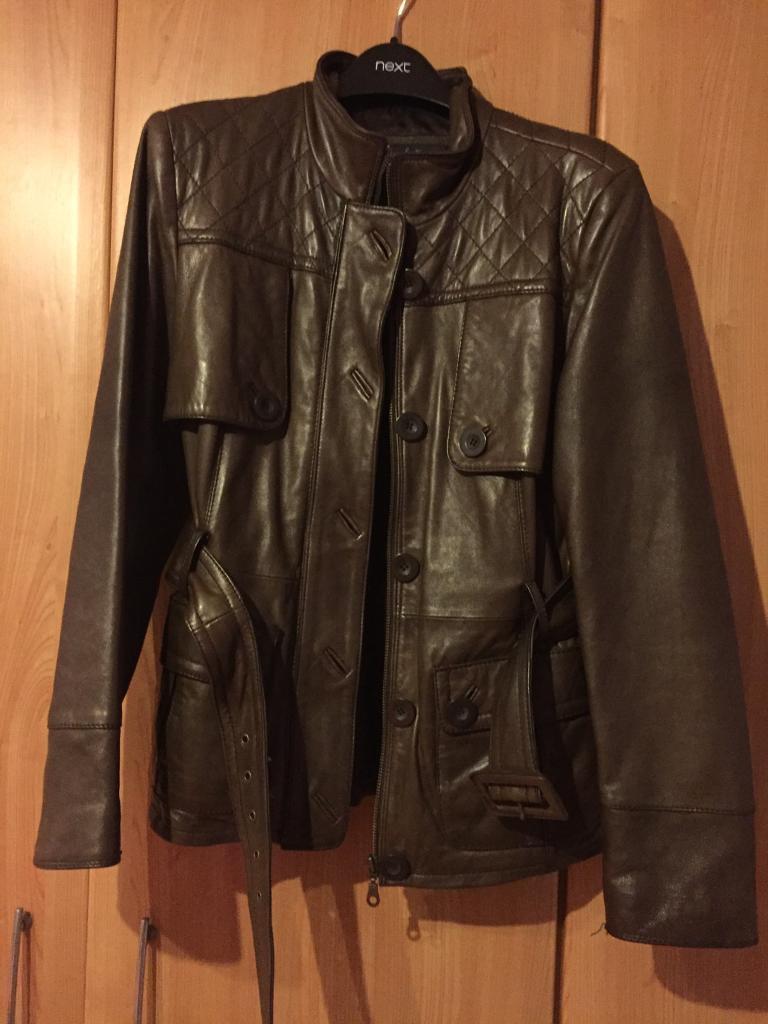 Ladies soft brown leather jacket | in Milton Keynes ...