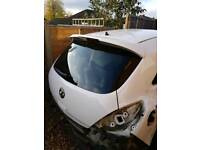 Vauxhall corsa d limited edition bootlid with spoiler