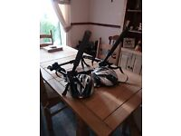 cycle carrier ,will carry 2 adult cycles / cycle helmets 2,