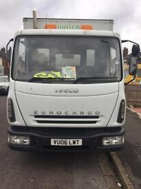 Ford Iveco eurocargo Luton lorry