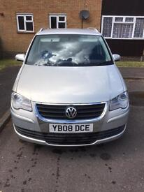 VW Touran 2008, 7 seat, 1.9 tdi