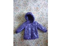 New NAME IT without label baby girl coat 9-12 months .