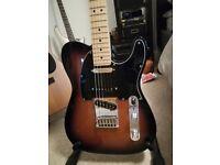 Fender Deluxe Nashville Telecaster in Sunburst