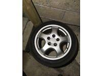 "17"" Porsche Cup Wheels"