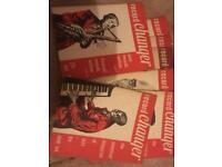 Vintage jazz magazines