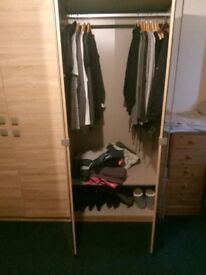 A 6 door wardrobe for sale in good condition selling for £250