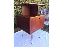Vintage drinks --- record cabinet
