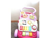 Vtech baby first step baby walker pink
