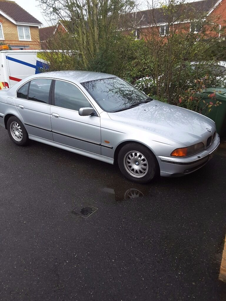 BMW 528i SE manual 1998 silver 105k 1 previous owner from new