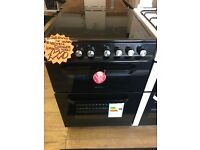 SERVIS BRAND NEW BLACK 60CM CEROMIC TOP ELECTRIC COOKER